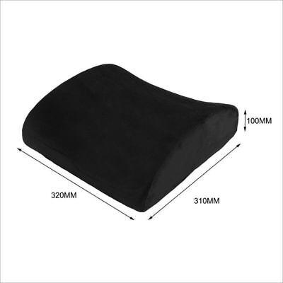 Memory Foam Lumbar Support Pillow Back Cushion Home Office Car Seat Pillows AU 2