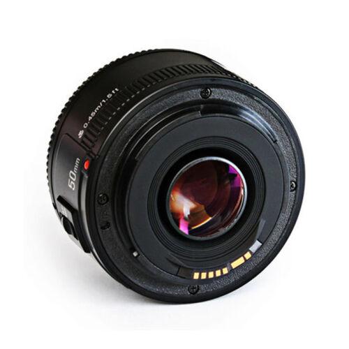 Yongnuo 50mm F/1.8 Auto Focus AF/MF Prime Standard Lens ...