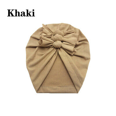 New Baby Headbands Turban Knotted Girl's Hair Bands for Newborn Children Cotton 4