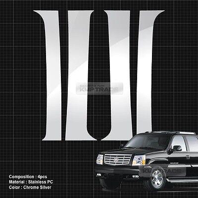 02-06 CADILLAC ESCALADE MIRROR CAP+4DRS W//O PSGKH+GAS TANK CHROME COVER