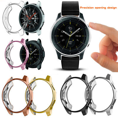 For Samsung Galaxy Watch 42mm 46mm Smart Watches Screen Protector TPU Case Cover 2