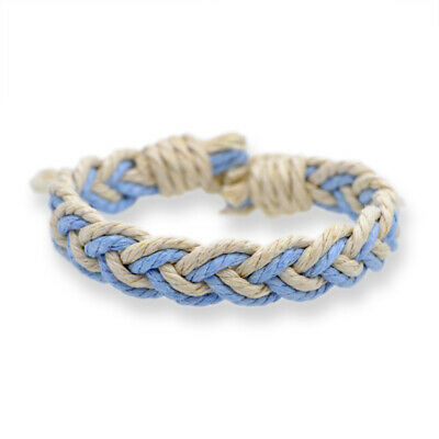Fashion Girl's Hemp Rope Weave Bracelet Simple Accessories Jewelry Gift 6