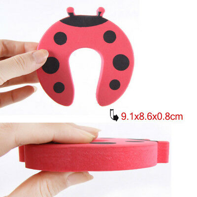 5/10pcs Baby Safety Cartoon Gate Card Security Door Stopper Protector Clip Clamp 11