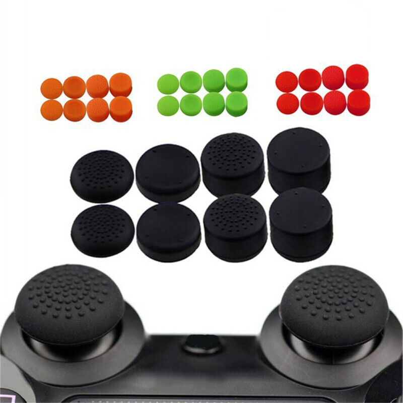 8X Silicone Replacement Key Cap Pad for PS4 Controller Gamepad Game Accessori Ef 2