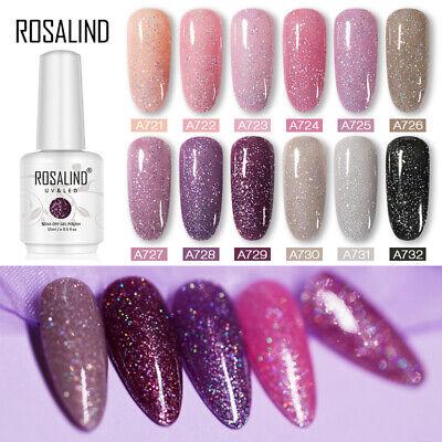 ROSALIND 15ml Gel Nail Polish Soak Off for Manicure UV/LED Lamp Hot 154 Colors 2