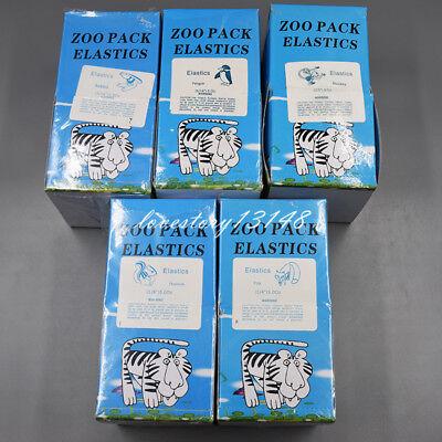 100/500/5000 Pcs Dental Orthodontic Rubber Bands Elastic Latex Braces 15 Sizes 3