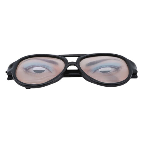 Glasses Practical Joke Droopy Eyes On Springs Fancy Dress Eye Specs Halloween