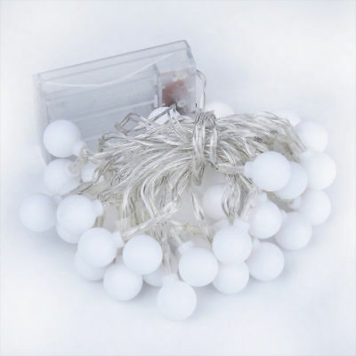 Fairy LED String Lights Christmas Round Ball Blubs Wedding Party Lamp 3M 4M 5M 5