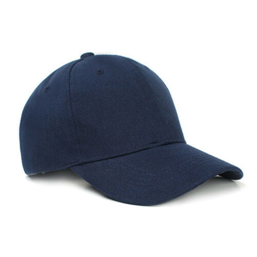 Baseball Cap Women Men Plain Snapback Trucker Sports Caps Sun Hats Summer Unisex 7