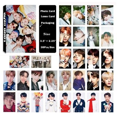 Lot of set KPOP Bangtan Boys Album Photocard Poster Lomo Card Photo Card 2