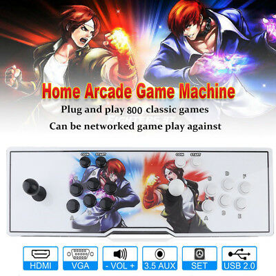 2019 Pandora's box 6S - Arcade Machine 800 Classic Game in 1 Arcade game console 2
