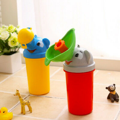 HOT Frog Kids Potty Toilet Training Baby Urinal for Boy Pee Trainer Bathroom New 9
