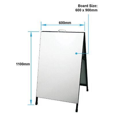 A Frame Sign/A Board /Metal Sandwich board Double Sided Road side sign sidewalk 5