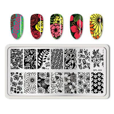 BORN PRETTY Nail Art Stamping Stamper Raschietto Piastra Plate Immagine 11