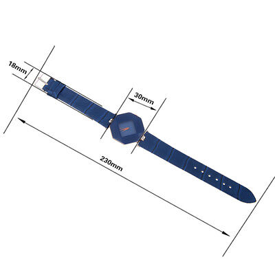 New Fashion Women 's Leather Band Analog Quartz Diamond Wrist Watch Watches 12