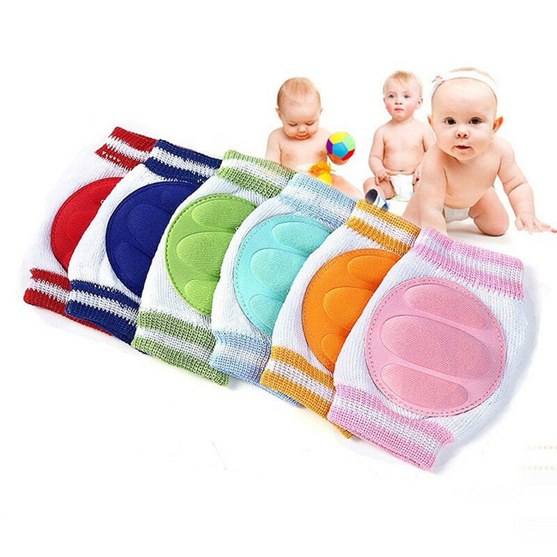 Newly Baby Kids Safety Crawling Elbow Cushion Infant Toddler Knee Pads Protector 4