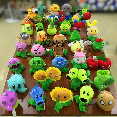 Plants vs Zombies 2 PVZ Figures Plush Baby Staff Toy Stuffed Soft Doll 13cm-35cm 2