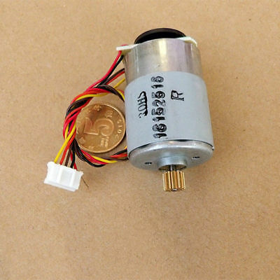 RS-385 Motor DC 12V-24V 5300RPM-10800RPM With Speed Feedback/Encoder Disk/Gear S 11