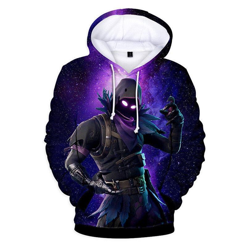 Fortnite Kleidung Damen Herren Kinder Hoodie Kapuzenpullover Sweatshirt Pullover