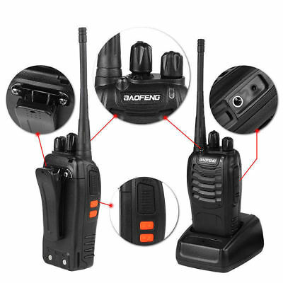 6PCS Baofeng BF-888S Two Way Radio Walkie Talkie Wireless Handheld UHF400-470MHz 2