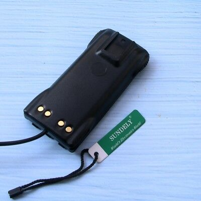 For Motorola RadioPMNN4081 12V Car Charger Battery Eliminator  CP185 CP476 CP477