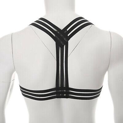 Männer Body Chest Harness Brustharness Herren Gay Geschirr Unterwäsche Clubwear 4
