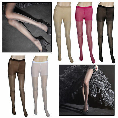 Womens Glitter Shimmer Sheer Shiny Pantyhose Opaque Stockings Tights Hosiery 3