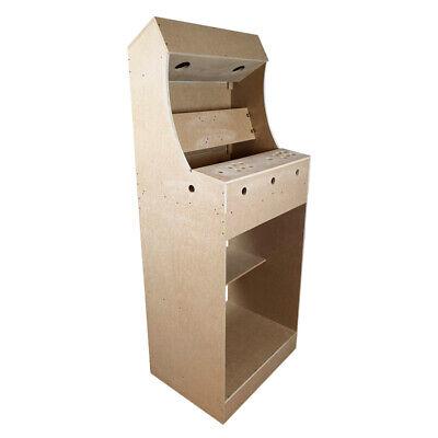 """Kit Mueble Bartop Light Arcade Recreativa Con Pedestal Max 25"""" De Pantalla 6"""