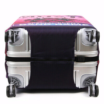 """Elastic Printed Luggage Suitcase Skin Cover Protector 18 -32"""" Thick Anti Scratch 10"""