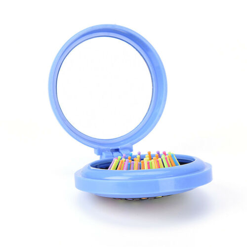 Cepillo de viaje monedero de viaje accesorio plegable peine plegable espejo
