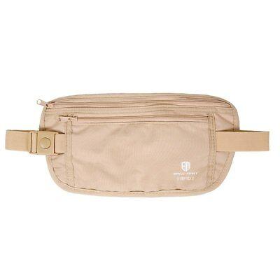 RFID Travel Waist Bum Bag Anti Theft Pouch Belt Passport Holder Safe Strap Sport 4