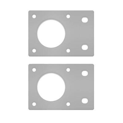 2* Aluminum NEMA 17 42 Stepper Motor Mounting Plate Fixed Bracket For 3D Printer 7