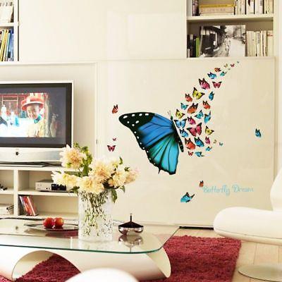 Schmetterling Madchen Wohnzimmer Wandtattoo Wandsticker Butterfly E10 Wandtattoos Wandbilder