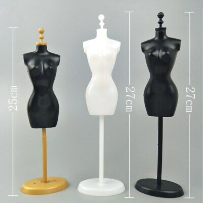 """Display Holder Support For 11.5"""" Doll Clothes Outfit Dress Gown Mannequin Model 3"""