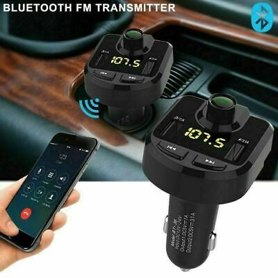 Bluetooth Car Set FM Transmitter Radio MP3 Player USB Charger Wireless Handsfree 5