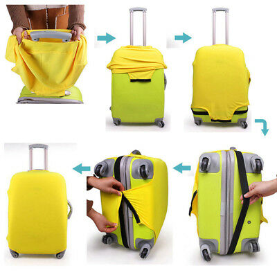 """18"""" 20"""" 22"""" 24"""" 28"""" Elastic Luggage Suitcase Bags Cover Protector Anti scratch 4"""