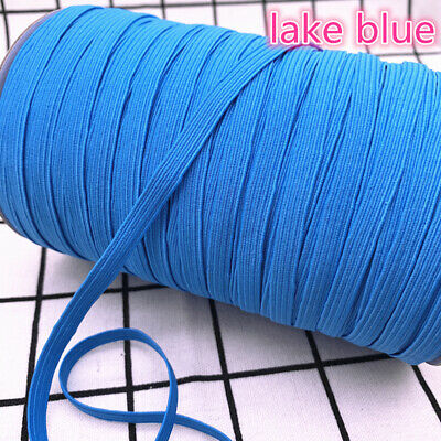 5yds 6mm Hight Elastic Bands Spool Sewing Band Flat Elastic Cord diy Sewmaterial 7