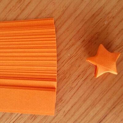 240pcs Origami Lucky Star tiras de papel cintas de papel plegables colores GK 9