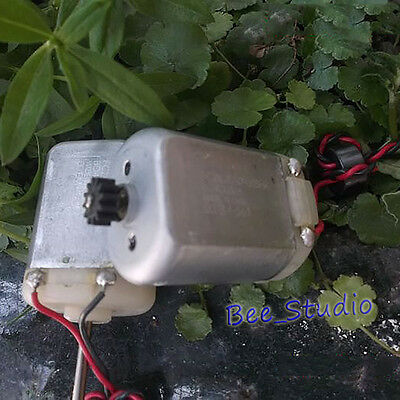DC 12V 24V 8000RPM Mabuchi FC280SA Carbon Brush Motor Metal Gear DIY RC Car Toy 7