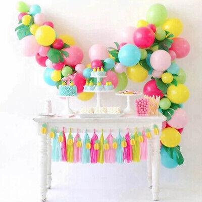 5M Balloon Decorate Strip Arch Garland Connect Chain DIY Tape Party Bar Decor AU 3