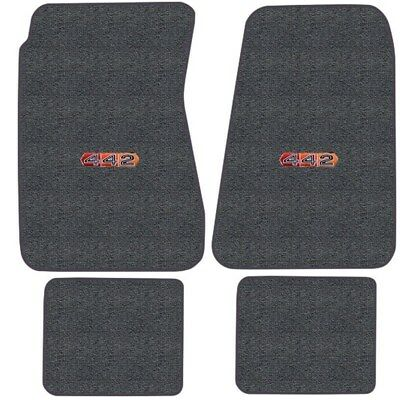 Cutlass Hurst Olds 442 Logo Loop Floor Mats Choose Mat Color