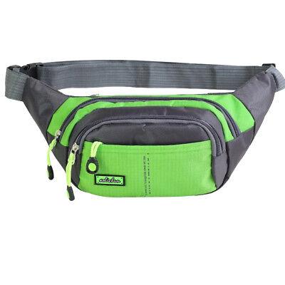 Bum Waist Bag Handy Belt Climbing Hiking Sport Unisex Fanny Pack Zip Pouch 3