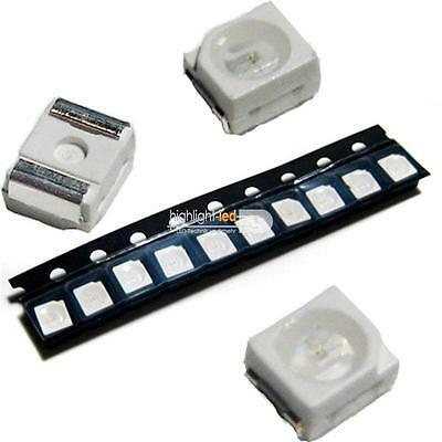 10 Stück SMD LED PLCC-2 3528 BLAU ideal f blauer Tacho Einzelne LEDs Business & Industrie