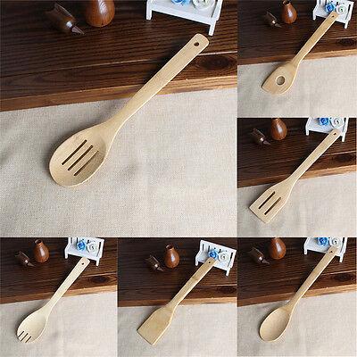 6x/Set ustensiles en bambou cuisine outil de cuisson en bois YX