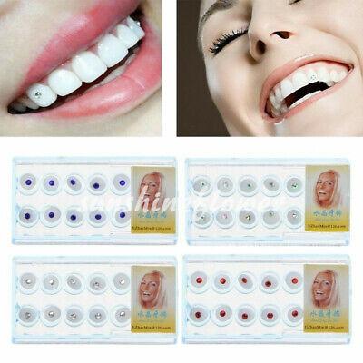 1 Kit Dental Oral Teeth Diamond Tooth Gems Crystal Ornaments Jewelry 2.0mm 2