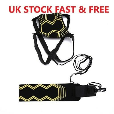 Football Self Training Kick Practice Trainer Aid Equipment Waist Belt Returner 2