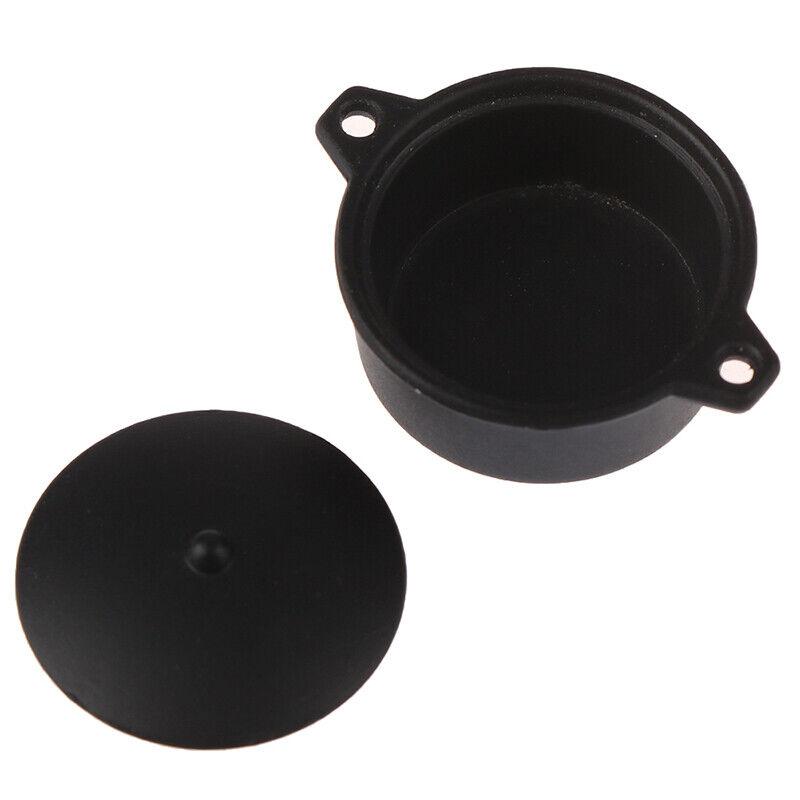 1:12 Dollhouse Miniature Mini Black Pot Model Kitchen Accessories T pzB0US 4
