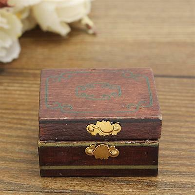 1/12 Dollhouse Miniatures Jewelry Box /Doll Room Decor House Accessory 5