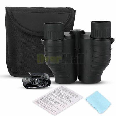 10X25 Binoculars with Night Vision BAK4 Prism High Power Waterproof 12