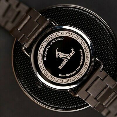 Luxury Design BOBO BIRD - Sports Japanese Quartz Wrist Watch - Men Casual 43mm 8